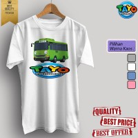 Baju kaos t-shirt dewasa/anak KARTUN TV TAYO 04