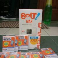modem bolt wifi 32Gb gratis 10pcs kartu perdana 14GB