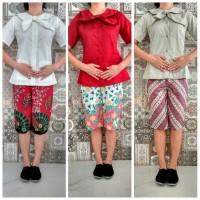 seragam baju suster modern ZOE nanny uniforms batik premium