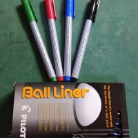 Pulpen Pilot Ball Liner 0,8mm