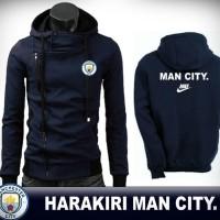 JAKET HARAKIRI NAVY MANCHESTER CITY