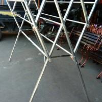 Jemuran Baju Stainless Steel 180cm jemuran pakaian besi stainless