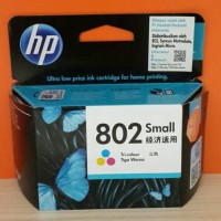 TINTA HP 802 WARNA / HP DESKJET 1000,1010,1050,1510,1511,2000,3050