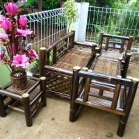 Kursi Bambu Minimalis 1 Set Murah Berkualitas