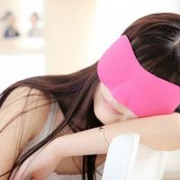 Penutup Mata Tidur Sleep Eye Mask Travel Masker Pelelap Tidur insomnia