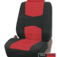 adepe sarung jok mobil sporty avanza 2005 ( black-carmine B )