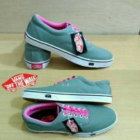 Sepatu Vans Multipop Abu Pink/Vans Multipop Gray cewek