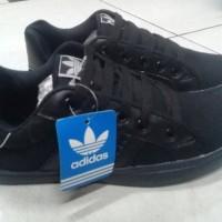 Sepatu sekolah ADIDAS hitam polos