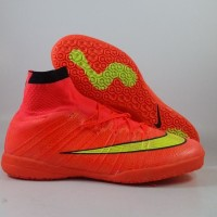 Sepatu Futsal Nike Elastico Superfly Orange Hyperpunch