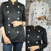 Baju Chef Lengan Panjang untuk Wanita