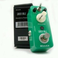 (BARU) Efek Gitar Mooer Green Mile Overdrive Stompbox