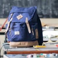 Tas Ransel Backpack Visval Rave Gendong Laptop Black Branded Murah Ori