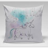 Bantal Sofa / bantal dekorasi Unicorn - Unicorn Colour