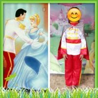 Baju Kostum Pangeran Cinderella 8-12 Tahun