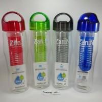 Botol Air Minum Tritan - Infuse Water Citrus Bottle