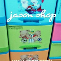 Lemari plastik Excel Centro/lemari plastik lion star Centro susun 5
