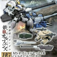 Bandai HG IBO 1/144 Gundam MS option set 1 barbatos tekkadan