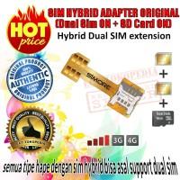 SIM HYBRID ADAPTER ORIGINAL (Dual Sim ON + SD Card ON)