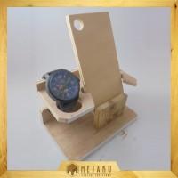 Dudukan HP (Phone Docking) KAYU - Universal