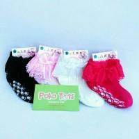 Kaos Kaki Renda Anak Pita S-L Baby Socks untuk Pesta Party