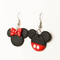anting gantung anak disney import mickey mouse miki tsumtsum handmade