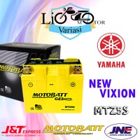 AKi Motor Yamaha New Vixion Motobatt MTZ5S Aki kering