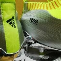 Sepatu Bola Adidas Ace 16+ Pure Control Silver