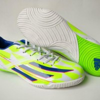 Sepatu Futsal Adidas F50 Adizero Supernatural White Green