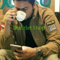 Jaket Motor Cowok/Pria POLICE/Jacket Man Tactical Army Militer Outdoor