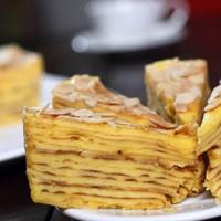 Kue Lapis Legit Bulat HARUM CAKE, ALMOND