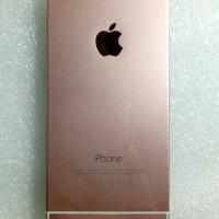 CASING HOUSING IPHONE 5S MODEL 6 ROSE GOLD ORGINAL