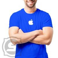 Kaos - Baju - Tshirt Logo Apple 01