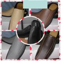 Sepatu Sandal Selop Pria Murah Ukuran Besar 44, 45, 46