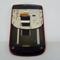 lcd touchscreen trackpad flexible blackberry bb torch 9800 red ori