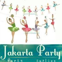 Banner Ballerina / Bunting Flag Ballerina - Jakarta Party
