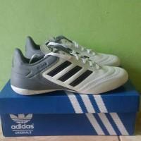 sepatu futsal adidas copa import promo putih abu list hitam
