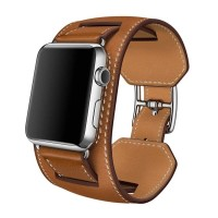 Apple Watch Band Hermes Double Cuff Leather Iwatch Strap Kulit 38 & 42