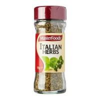 Masterfoods Italian Herbs Seasoning Bumbu Tabur Bubuk Daun Herb Import