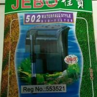 aquarium aquascape filter jebo 502 hang on