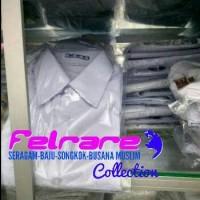 Seragam Sekolah Putih 10 sd. 12 Hem Baju Kemeja FELRARE Lgn. Pendek