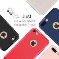Luxury Back Matte Soft Silicon Case cover Iphone 5 5s SE 6 6s 7 7 plus