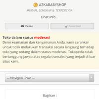Perhatian Untuk Pelanggan AZKABABYSHOP
