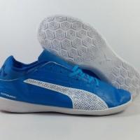 sepatu futsal puma evotouch 3 biru ic grade ori import