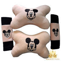Bantal Mobil Mickey Mouse 2in1 - Mickey Mouse (New)
