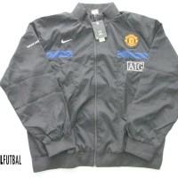 2009-2010 MANCHESTER UNITED NIKE ORIGINAL TRACK SUIT BLACK XL Jaket