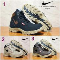 Sepatu Pria Boots Nike Safety Steel Toe (Ujung Besi)
