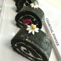 Black Charcoal Powder - Bubuk Arang Bambu