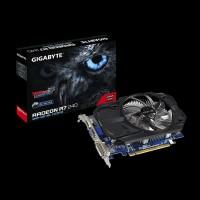 SALE GIGABYTE ATI Radeon VGA CARD GPU GV R724OC 2GI R7 240 DDR3 2GB 1
