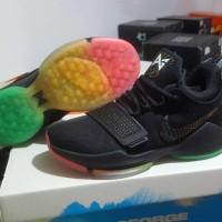 Sepatu basket Nike PG1 PG 1 Rise And Shine Black Multicolour Hitam