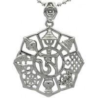 Kalung Silver Om Tibetan